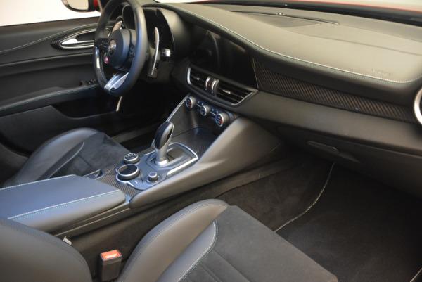 Used 2017 Alfa Romeo Giulia Quadrifoglio for sale Sold at Bugatti of Greenwich in Greenwich CT 06830 21