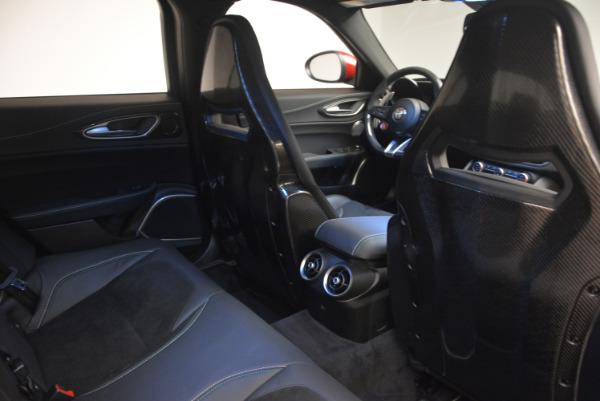 Used 2017 Alfa Romeo Giulia Quadrifoglio for sale Sold at Bugatti of Greenwich in Greenwich CT 06830 25