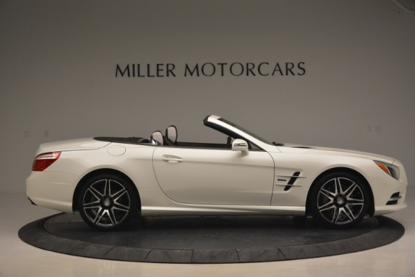 Used 2015 Mercedes Benz SL-Class SL 550 for sale Sold at Bugatti of Greenwich in Greenwich CT 06830 10