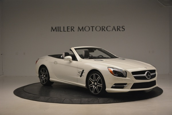 Used 2015 Mercedes Benz SL-Class SL 550 for sale Sold at Bugatti of Greenwich in Greenwich CT 06830 12