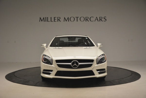 Used 2015 Mercedes Benz SL-Class SL 550 for sale Sold at Bugatti of Greenwich in Greenwich CT 06830 14