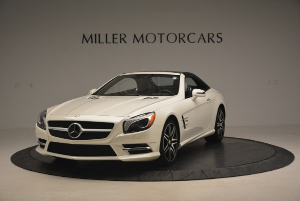 Used 2015 Mercedes Benz SL-Class SL 550 for sale Sold at Bugatti of Greenwich in Greenwich CT 06830 15
