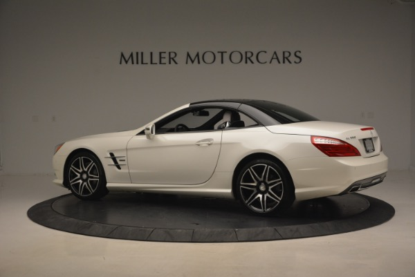 Used 2015 Mercedes Benz SL-Class SL 550 for sale Sold at Bugatti of Greenwich in Greenwich CT 06830 18