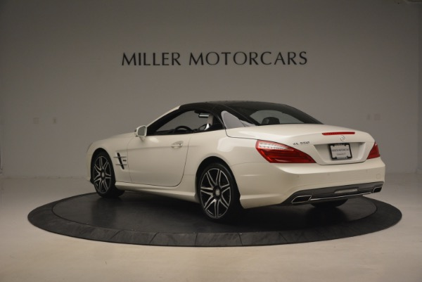 Used 2015 Mercedes Benz SL-Class SL 550 for sale Sold at Bugatti of Greenwich in Greenwich CT 06830 19