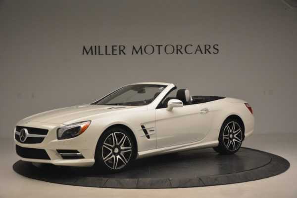 Used 2015 Mercedes Benz SL-Class SL 550 for sale Sold at Bugatti of Greenwich in Greenwich CT 06830 2