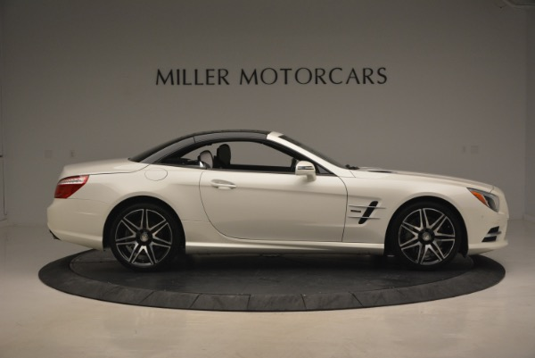 Used 2015 Mercedes Benz SL-Class SL 550 for sale Sold at Bugatti of Greenwich in Greenwich CT 06830 23