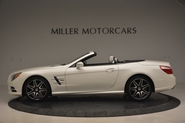 Used 2015 Mercedes Benz SL-Class SL 550 for sale Sold at Bugatti of Greenwich in Greenwich CT 06830 3