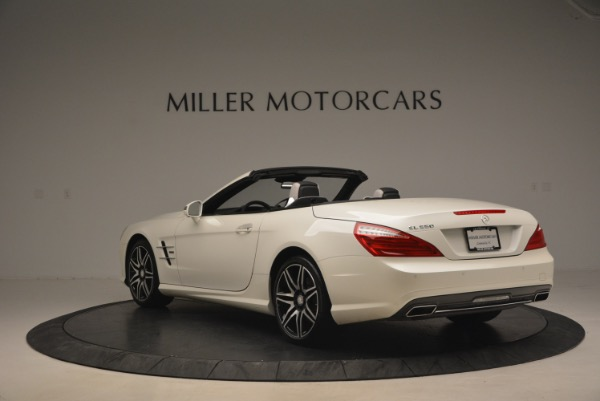 Used 2015 Mercedes Benz SL-Class SL 550 for sale Sold at Bugatti of Greenwich in Greenwich CT 06830 5