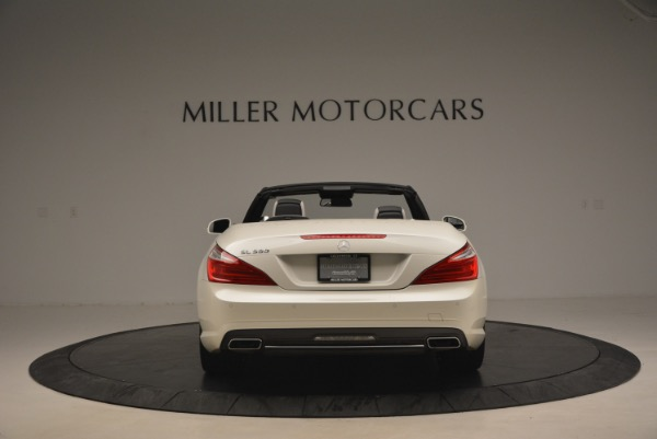 Used 2015 Mercedes Benz SL-Class SL 550 for sale Sold at Bugatti of Greenwich in Greenwich CT 06830 6