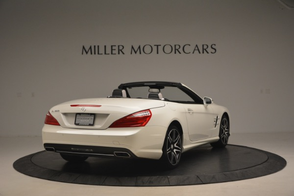 Used 2015 Mercedes Benz SL-Class SL 550 for sale Sold at Bugatti of Greenwich in Greenwich CT 06830 7