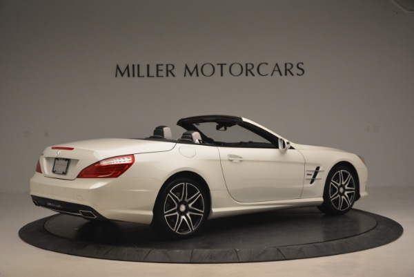 Used 2015 Mercedes Benz SL-Class SL 550 for sale Sold at Bugatti of Greenwich in Greenwich CT 06830 8