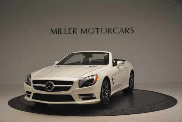 Used 2015 Mercedes Benz SL-Class SL 550 for sale Sold at Bugatti of Greenwich in Greenwich CT 06830 1