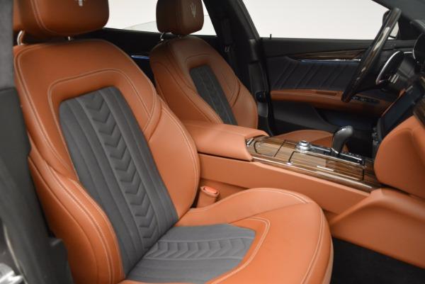 New 2017 Maserati Quattroporte S Q4 GranLusso for sale Sold at Bugatti of Greenwich in Greenwich CT 06830 18