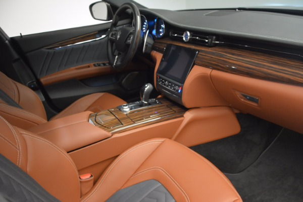 New 2017 Maserati Quattroporte S Q4 GranLusso for sale Sold at Bugatti of Greenwich in Greenwich CT 06830 16