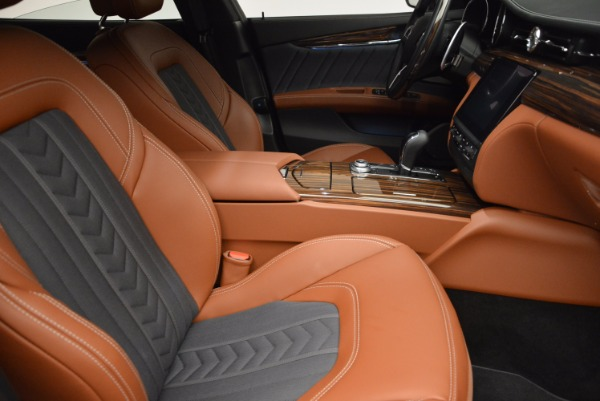 New 2017 Maserati Quattroporte S Q4 GranLusso for sale Sold at Bugatti of Greenwich in Greenwich CT 06830 18