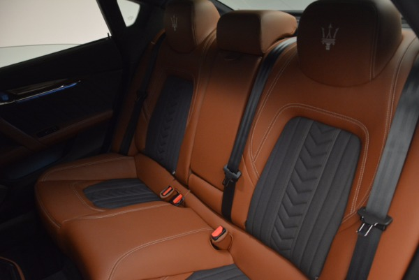 New 2017 Maserati Quattroporte S Q4 GranLusso for sale Sold at Bugatti of Greenwich in Greenwich CT 06830 28