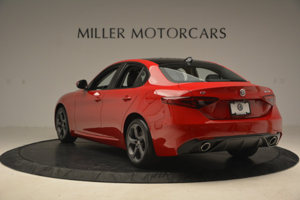 New 2017 Alfa Romeo Giulia Q4 for sale Sold at Bugatti of Greenwich in Greenwich CT 06830 6