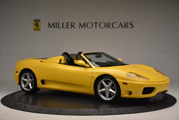 Used 2003 Ferrari 360 Spider 6-Speed Manual for sale Sold at Bugatti of Greenwich in Greenwich CT 06830 10