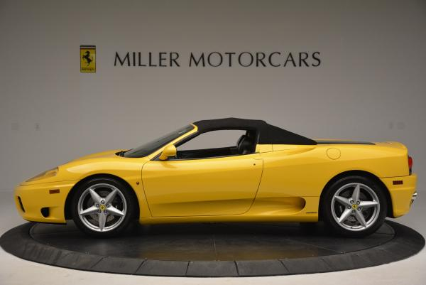 Used 2003 Ferrari 360 Spider 6-Speed Manual for sale Sold at Bugatti of Greenwich in Greenwich CT 06830 15