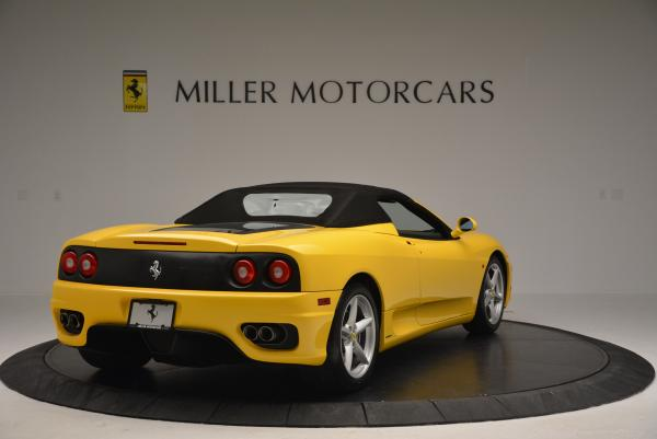 Used 2003 Ferrari 360 Spider 6-Speed Manual for sale Sold at Bugatti of Greenwich in Greenwich CT 06830 19