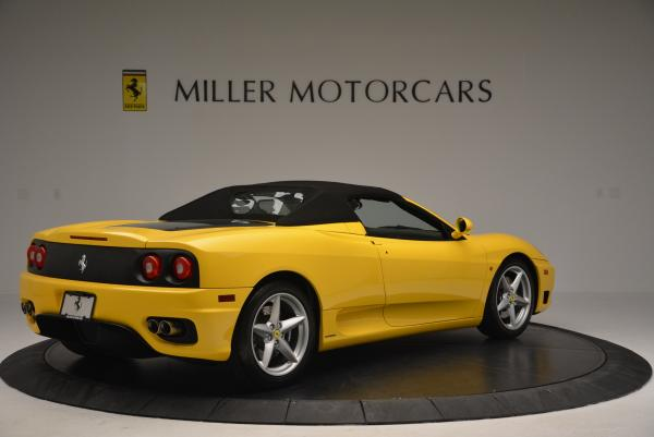 Used 2003 Ferrari 360 Spider 6-Speed Manual for sale Sold at Bugatti of Greenwich in Greenwich CT 06830 20