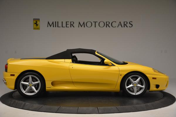 Used 2003 Ferrari 360 Spider 6-Speed Manual for sale Sold at Bugatti of Greenwich in Greenwich CT 06830 21