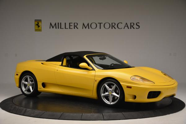 Used 2003 Ferrari 360 Spider 6-Speed Manual for sale Sold at Bugatti of Greenwich in Greenwich CT 06830 22