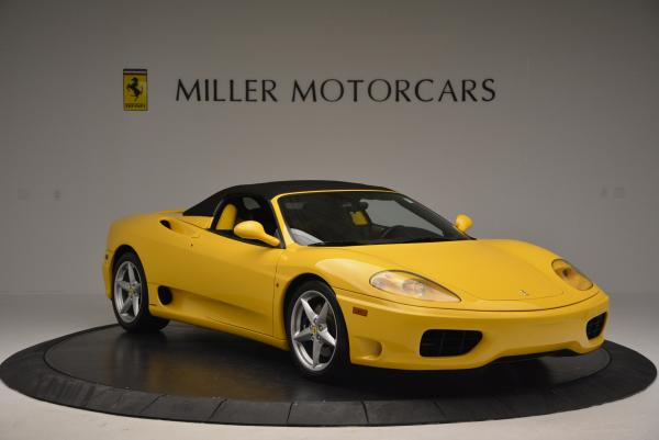 Used 2003 Ferrari 360 Spider 6-Speed Manual for sale Sold at Bugatti of Greenwich in Greenwich CT 06830 23