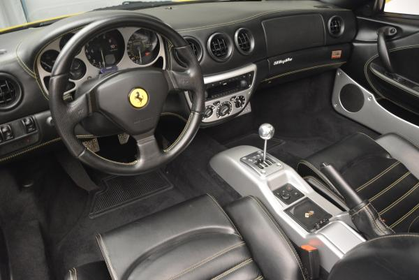 Used 2003 Ferrari 360 Spider 6-Speed Manual for sale Sold at Bugatti of Greenwich in Greenwich CT 06830 25