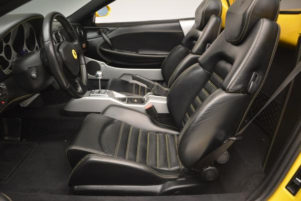 Used 2003 Ferrari 360 Spider 6-Speed Manual for sale Sold at Bugatti of Greenwich in Greenwich CT 06830 26