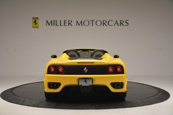 Used 2003 Ferrari 360 Spider 6-Speed Manual for sale Sold at Bugatti of Greenwich in Greenwich CT 06830 6