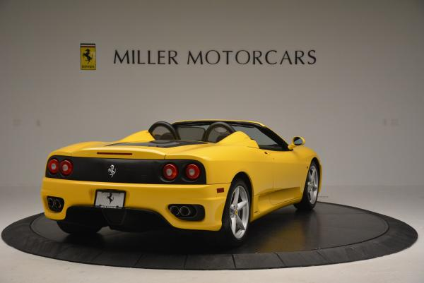 Used 2003 Ferrari 360 Spider 6-Speed Manual for sale Sold at Bugatti of Greenwich in Greenwich CT 06830 7