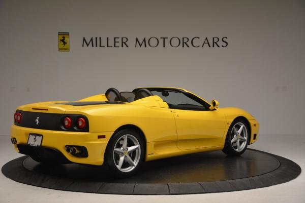 Used 2003 Ferrari 360 Spider 6-Speed Manual for sale Sold at Bugatti of Greenwich in Greenwich CT 06830 8
