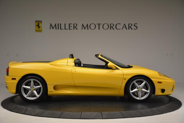 Used 2003 Ferrari 360 Spider 6-Speed Manual for sale Sold at Bugatti of Greenwich in Greenwich CT 06830 9