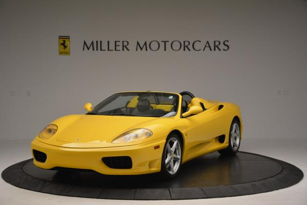Used 2003 Ferrari 360 Spider 6-Speed Manual for sale Sold at Bugatti of Greenwich in Greenwich CT 06830 1
