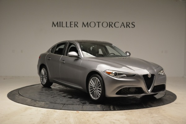 New 2017 Alfa Romeo Giulia Ti Lusso Q4 for sale Sold at Bugatti of Greenwich in Greenwich CT 06830 11