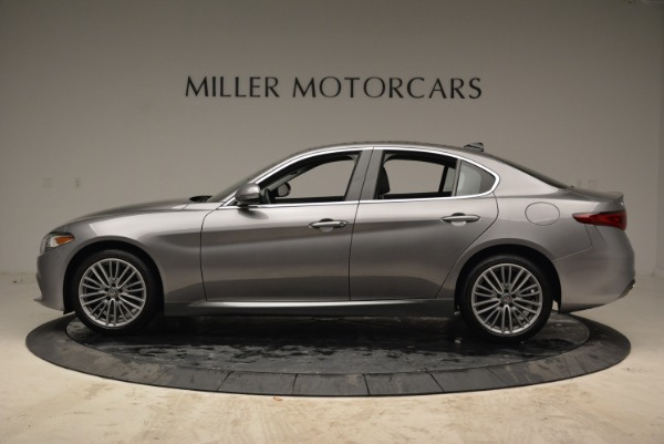 New 2017 Alfa Romeo Giulia Ti Lusso Q4 for sale Sold at Bugatti of Greenwich in Greenwich CT 06830 3