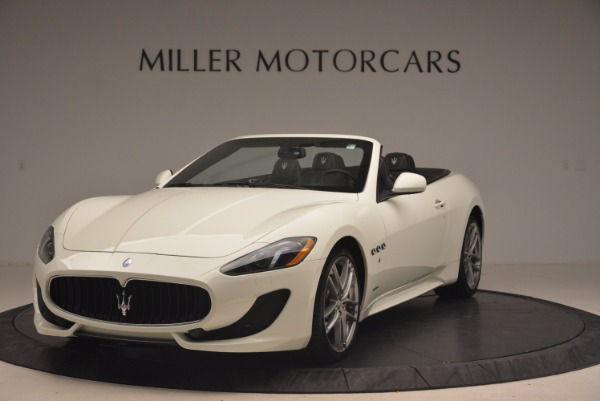 Used 2016 Maserati GranTurismo Sport for sale Sold at Bugatti of Greenwich in Greenwich CT 06830 1