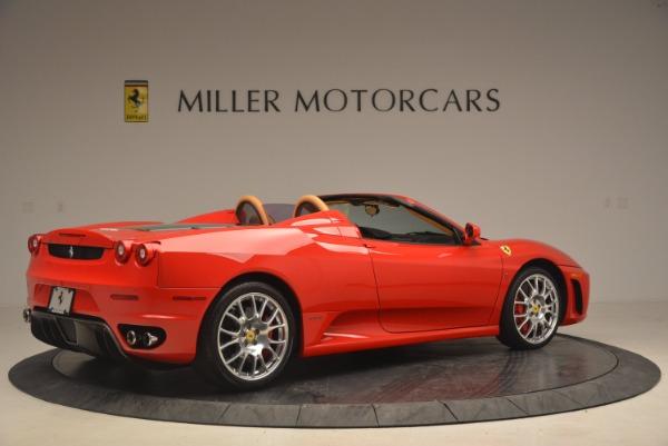 Used 2008 Ferrari F430 Spider for sale Sold at Bugatti of Greenwich in Greenwich CT 06830 8
