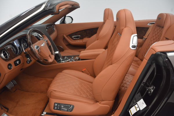 Used 2017 Bentley Continental GTC V8 S for sale $159,900 at Bugatti of Greenwich in Greenwich CT 06830 28