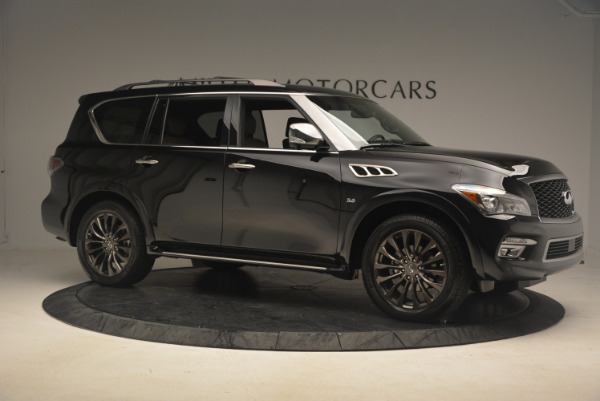 Used 2015 INFINITI QX80 Limited 4WD for sale Sold at Bugatti of Greenwich in Greenwich CT 06830 10