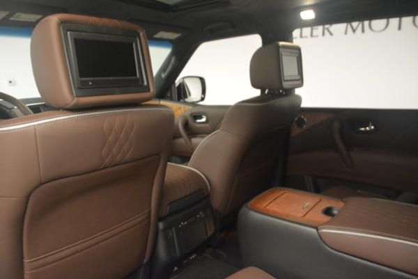 Used 2015 INFINITI QX80 Limited 4WD for sale Sold at Bugatti of Greenwich in Greenwich CT 06830 19