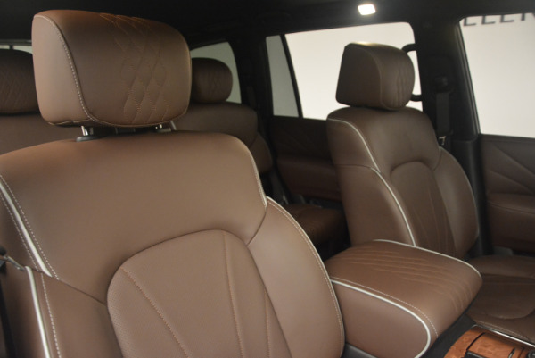 Used 2015 INFINITI QX80 Limited 4WD for sale Sold at Bugatti of Greenwich in Greenwich CT 06830 24