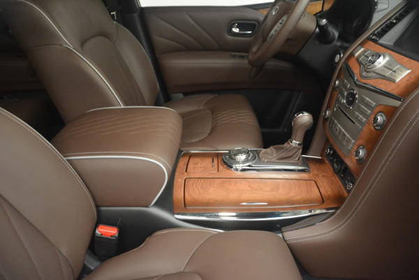 Used 2015 INFINITI QX80 Limited 4WD for sale Sold at Bugatti of Greenwich in Greenwich CT 06830 25