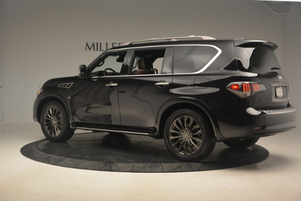 Used 2015 INFINITI QX80 Limited 4WD for sale Sold at Bugatti of Greenwich in Greenwich CT 06830 4