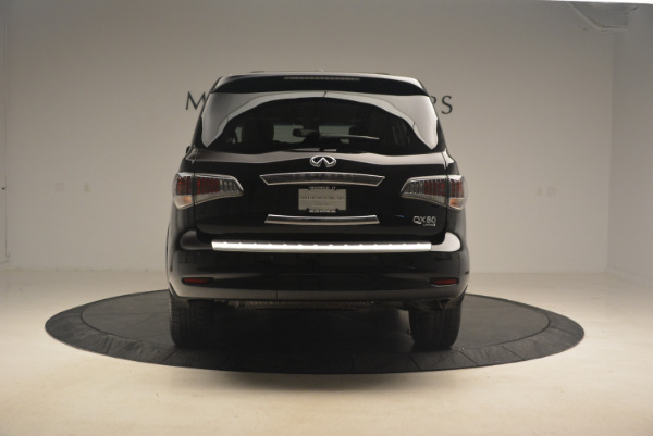 Used 2015 INFINITI QX80 Limited 4WD for sale Sold at Bugatti of Greenwich in Greenwich CT 06830 6