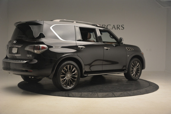 Used 2015 INFINITI QX80 Limited 4WD for sale Sold at Bugatti of Greenwich in Greenwich CT 06830 8