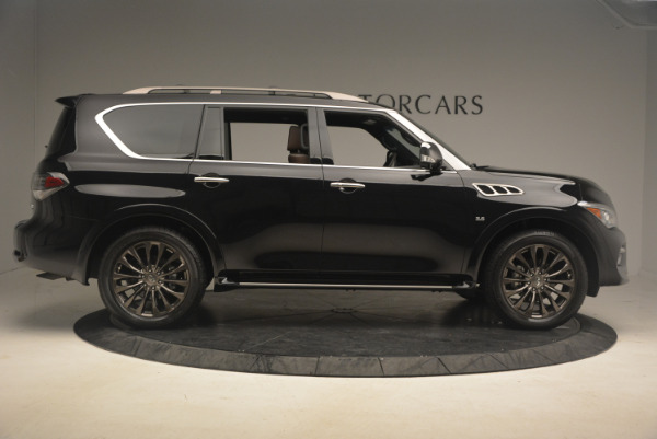 Used 2015 INFINITI QX80 Limited 4WD for sale Sold at Bugatti of Greenwich in Greenwich CT 06830 9