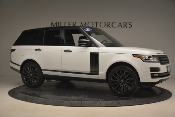 Used 2015 Land Rover Range Rover Supercharged for sale Sold at Bugatti of Greenwich in Greenwich CT 06830 10