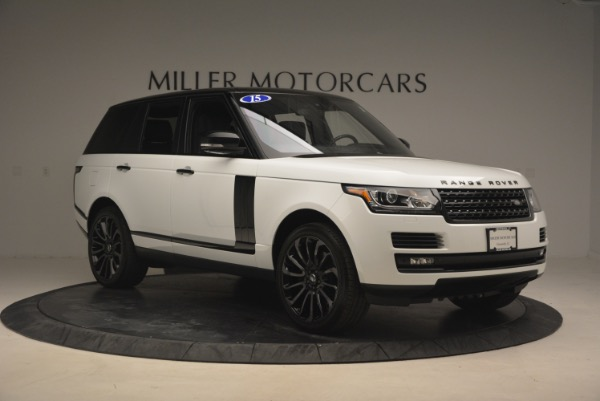 Used 2015 Land Rover Range Rover Supercharged for sale Sold at Bugatti of Greenwich in Greenwich CT 06830 11